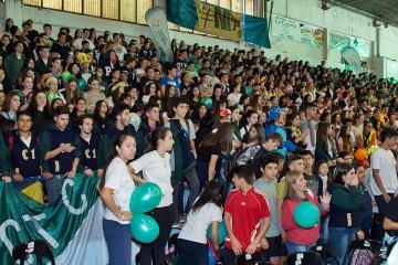 Más de 2000 estudiantes coparon el Ferro para el