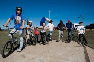El Skate Park fue sede del primer evento internacional de Skaters y Bikers