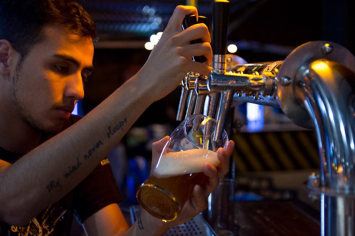 Lanzamiento de Cerveza PamPinta en Puerto Juarez