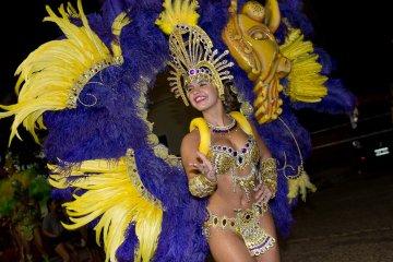 La comparsa Bella Samba le bajó el telón definitivo al carnaval 2018
