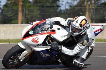 Motos de alta gama giraron en el autódromo de Concordia