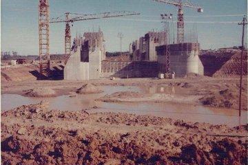 DOCUMENTO HISTÓRICO: La construcción de la represa de Salto Grande en imágenes