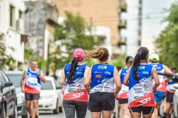 La Maratón UTN se corrió con récord de particpantes