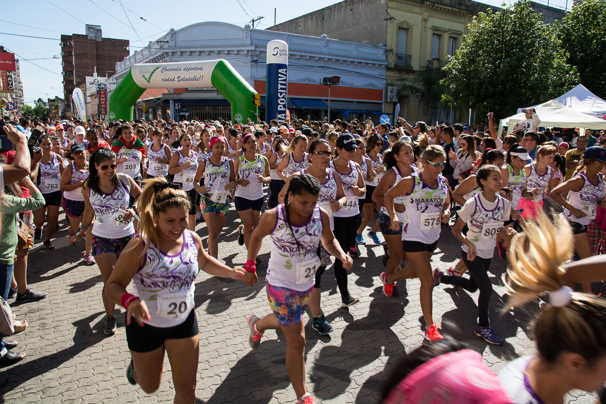 Las mujeres coparon las calles de Concordia (PARTE 1)