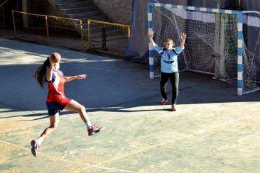Vale Brodsky está en Córdoba por un lugar en el seleccionado juvenil de handball