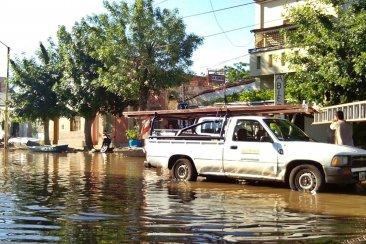 """Proyectan una defensa contra inundaciones """"movible"""" para todo el barrio Puerto"""