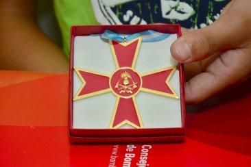Se otorgó la Cruz Dorada al bombero fallecido por la inundación en Concordia
