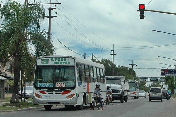 Las lineas de colectivo de Concordia adhieren al paro de UTA
