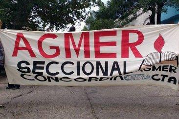 AGMER Concordia se suma a la movilización nacional contra los despidos