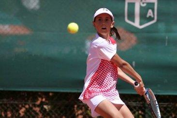 Olivia Scattini representará a la Argentina en el Sudamericano de Tenis