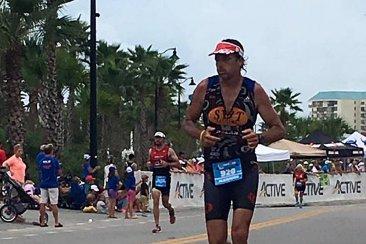Concordiense compite en el Ironman 70.3 de México