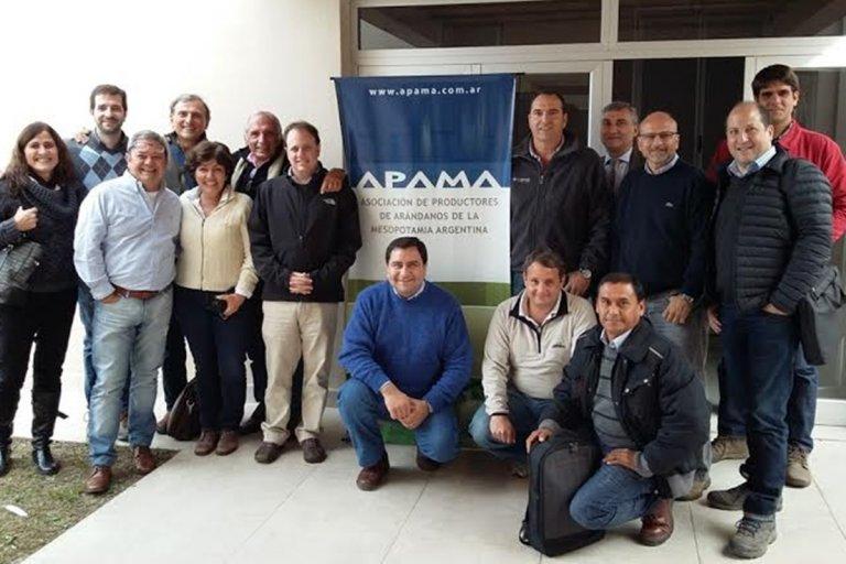 Las entidades del sector preparan el Congreso Mundial del Arándano en Concordia