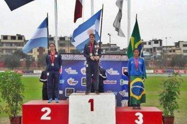 Martina Corrá se consagró subcampeona sudamericana en Perú