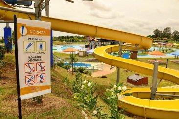 El Parque Acuático de Federación con nueva señalización