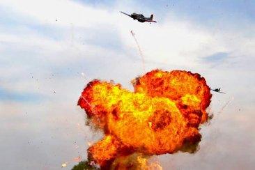 Los festejos del Aeroclub Concordia incluirán un simulacro de bombardeo aéreo