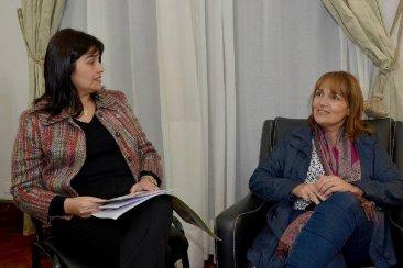 Mariel Avila se reunió con la intendenta de Feliciano para cordinar políticas de turismo y producción