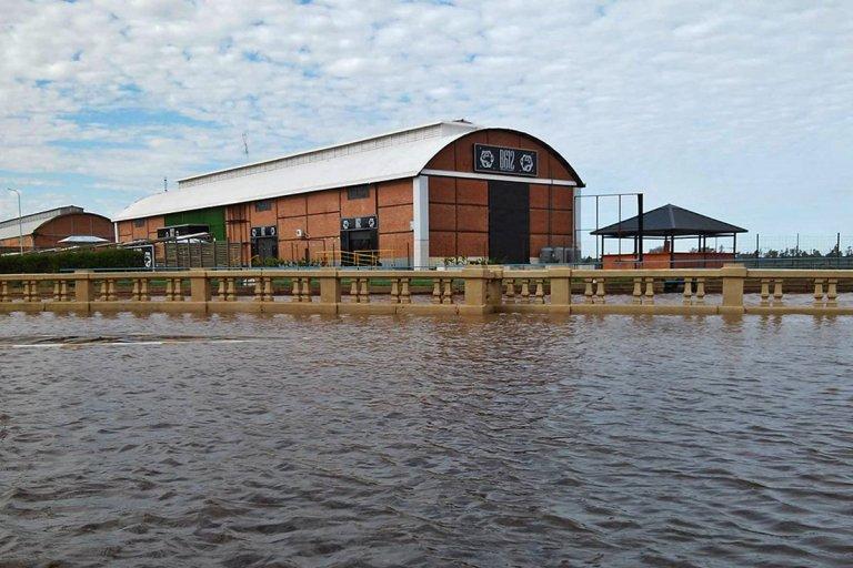 El río Uruguay se estacionó en los 12 metros pero siguen las lluvias en toda la cuenca