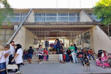 La escuela Basavilbaso también pide por mejoras estructurales en un edificio de hace más de 45 años