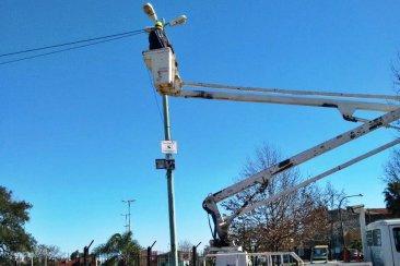 El municipio concretó la instalación de cámaras de vigilancia en el Parque Ferré