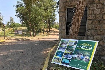 """Cansados de los vándalos planean """"cerrar"""" un sector del Parque San Carlos"""