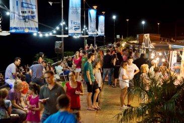 Concordia inauguró una nueva oferta gastronómica a orillas del Río Uruguay