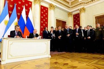 Bordet remarcó que la gira por Rusia