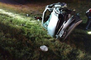 Fatal accidente en la autovía de la ruta nacional 14