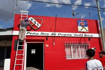 Jugadores históricos de Independiente traen la Copa Libertadores a una localidad entrerriana