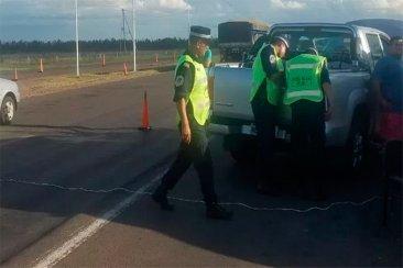 Incautaron más de doscientos celulares y accesorios en la autovía 14