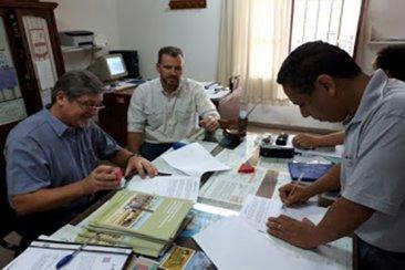 El INTA firmó un convenio con la escuela Técnica de Chajarí para producir herramientas
