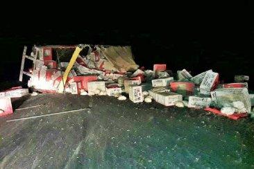 Estado de salud del camionero que se accidentó en la ruta 12
