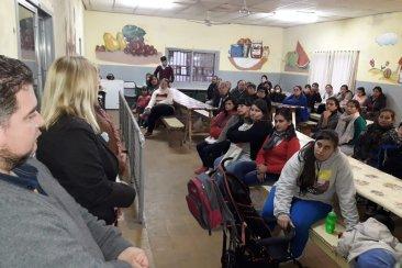 Este lunes quedará inaugurado el semipresencial de jóvenes y adultos en Villa Zorraquín
