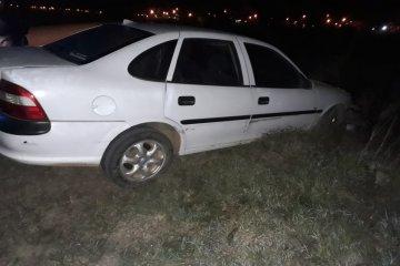 Conducía alcoholizado y protagonizó un despiste con su vehículo