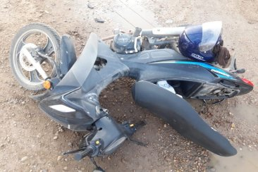 Un concordiense protagonizó un fuerte accidente en Chajarí