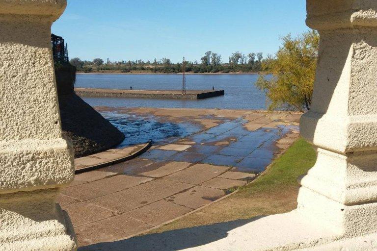 El río Uruguay podría tener menos de un metro de altura durante el fin de semana