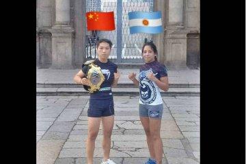 Concordiense pelea en China por el título mundial de MMA