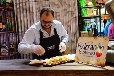 Federación se lució en la Feria de Caminos y Sabores en Buenos Aires