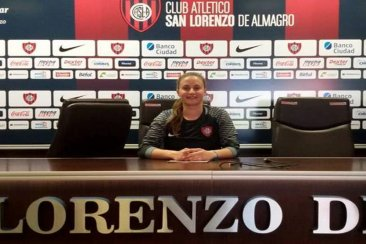 Una entrerriana firmó contrato para jugar en el fútbol femenino de San Lorenzo