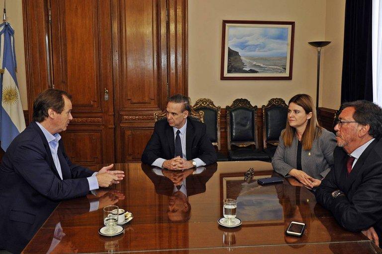 Bordet pide que el presupuesto nacional incluya el envío directo de excedentes a CAFESG