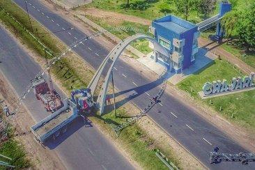 Chajarí tendrá un nuevo portal de bienvenida a la ciudad