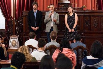 Concordia fue el departamento que más proyectos presentó en el Senado Juvenil