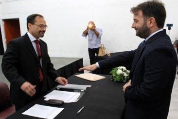 Ricardo Temporetti juró como nuevo fiscal de Feliciano
