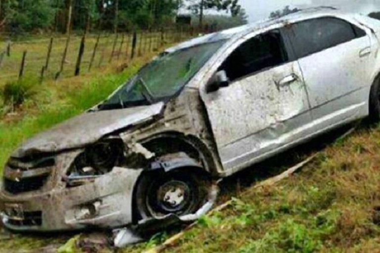 Un concordiense falleció al volcar con su auto en la provincia de Corrientes