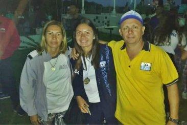 Una concordiense se consagró campeona sudamericana de Canotaje