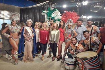 El carnaval de Concordia se promocionó en la televisión nacional