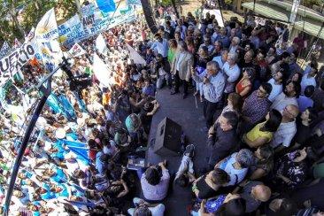 Gioja, Fernández, Urribarri y Solanas lanzaron la campaña de Unidad Ciudadana
