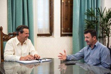 Zandoná y Bahl dialogaron sobre la realidad provincial y regional