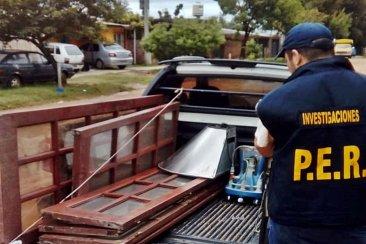 Ofertaban elementos robados por internet pero la policía pudo recuperarlos