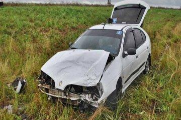Un camión perdió una rueda en la ruta y casi provoca una tragedia