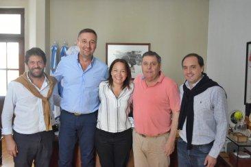 Referentes locales del PRO estuvieron en Paraná para el lanzamiento electoral de Gainza
